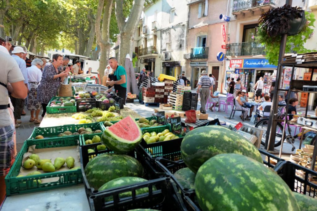 Marché de Gignac